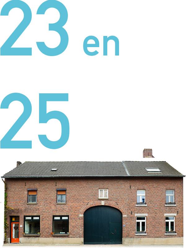 23 en 25 groot haasdal 23 en 25 schimmert poorten van Groot Haasdal Schimmert