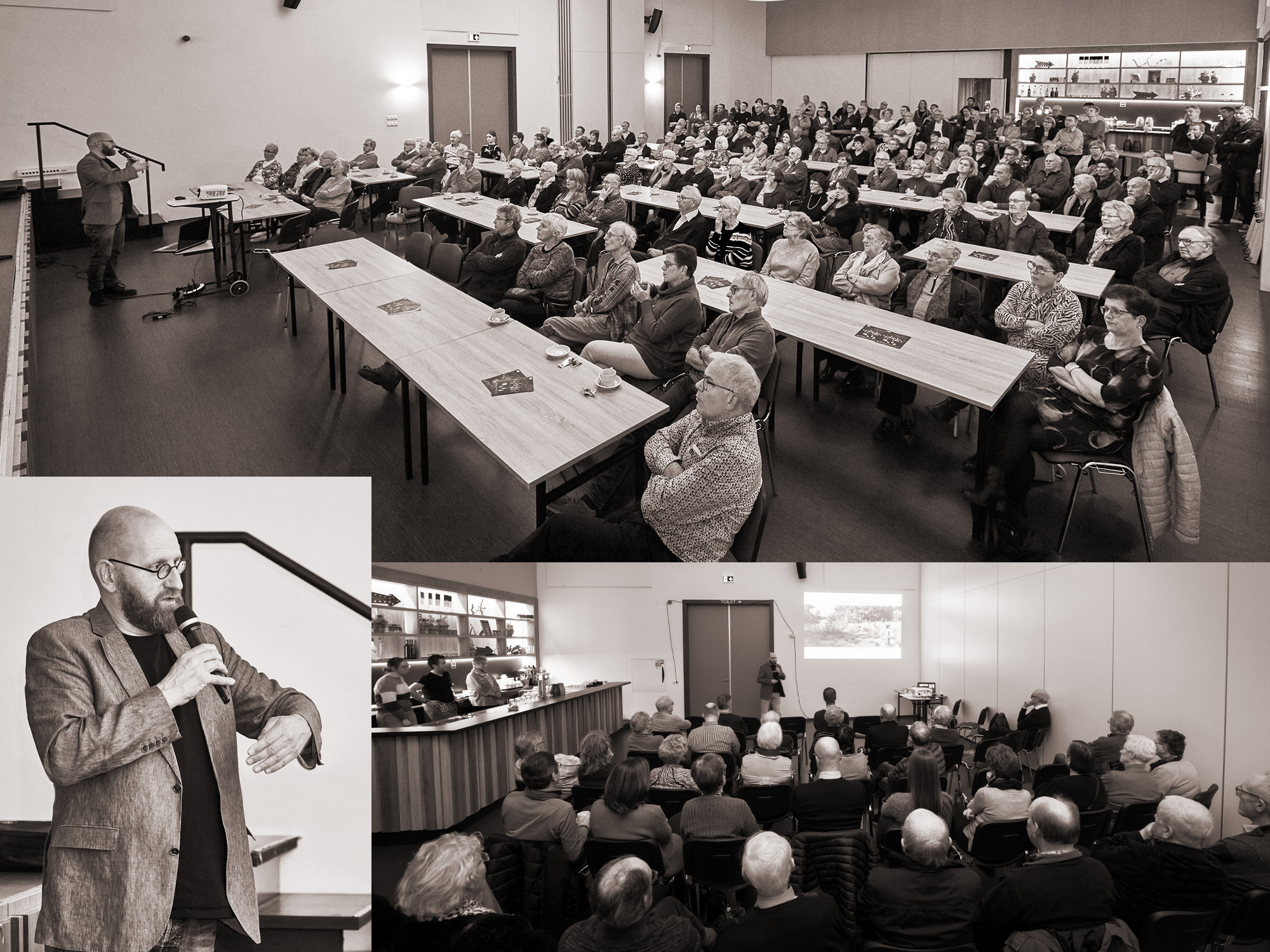 Hazeler Paorte lezing Jacquo Silvertant Cutureel erfgoed romeinen in Haasdal Schimmert