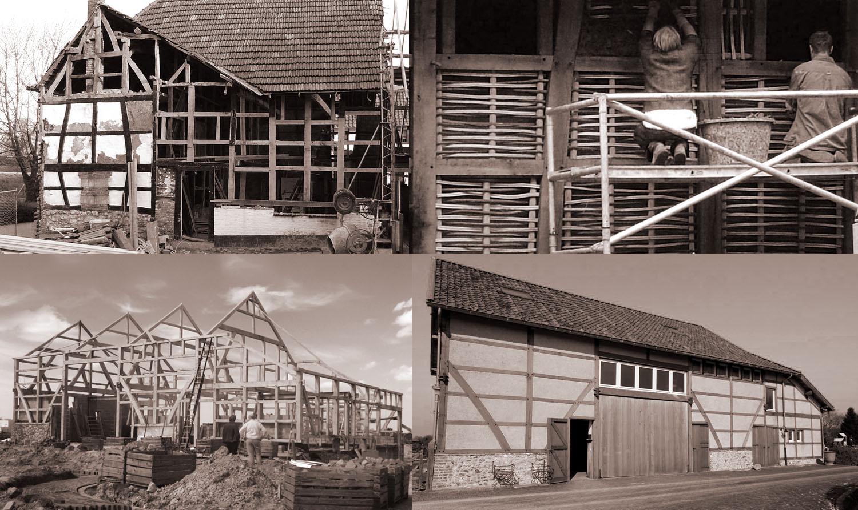 vakwerk bouw houtbouw poortenfeest groot Haasdal